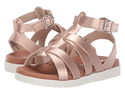 Nina Kids Alpha (Toddler/Little Kid/Big Kid) (Rose Gold Metallic) Girl