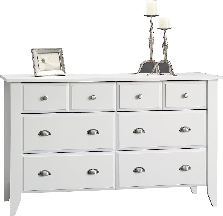 Branded goods Sauder Shoal Creek Dresser Soft White [Alternative dealer] finish