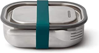 Black+Blum BAM-SS-S005 Stainless Steel Lunch Box Small - Ocean Steel & Silicone