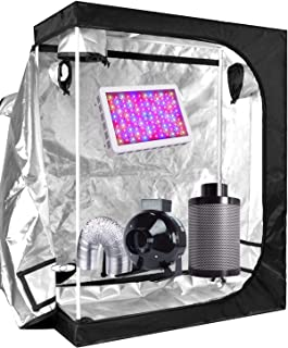 Funlife Super Indoor Growing System/Indoor Grow Tent and LED Grow Lights System+Grow Tents Air Filtre Kits-4