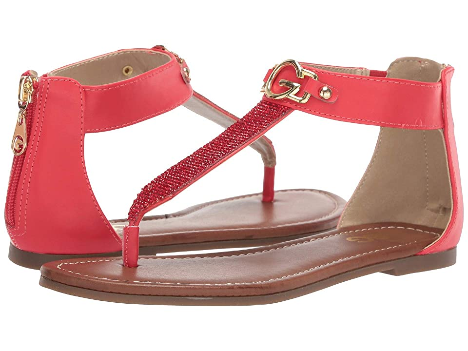 G by GUESS Lorez (Burnished Calf Bright Coral/Burnished Calf Bright Coral) Women