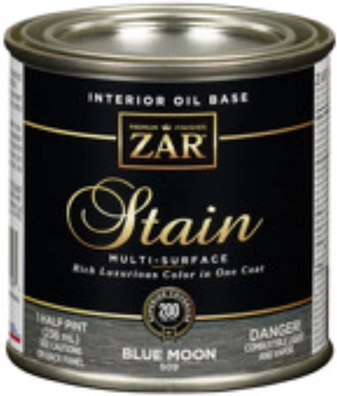 Zar 50906 1 Half Pint Blue Moon Interior Oil Base Stain