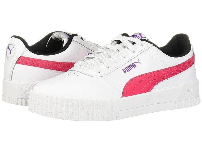 PUMA Carina L Jr Ladies Sneaker Shoes Pink