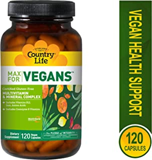 Country Life, Multivitamin Mineral Support Vegetarian, 120 Vegetarian Capsules