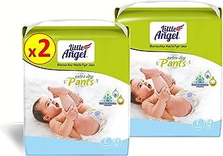 Little Angel Baby Diaper Pants, Large - 128 Units