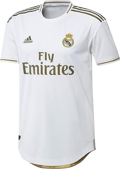 adidas Real Madrid Primera Equipación Authentic 2019-2020, Camiseta, White
