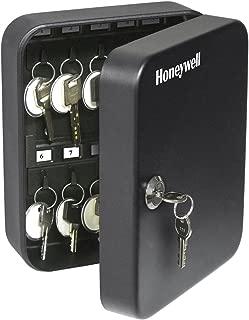Honeywell Safes & Door Locks - 6105 Steel 24 Key Security Box, 0.07-Cubic Feet, Black