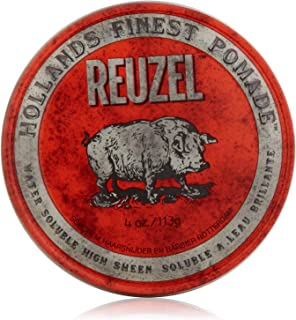 Reuzel High Sheen Red Pomade, 4 oz
