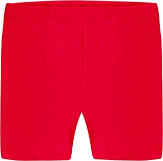 Girls' Bike Short 100% Organic Cotton for Sports and Under Skirts