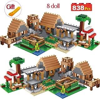 Puppenhaus Miniatur Kit Y-001 Weihnachten Hut 3D Holzpuppenhaus Ziegel Spielzeug
