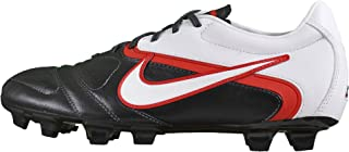 Mens Ctr360 Libretto Ii Fg Soccer Shoes Cleats - Black/White/Red