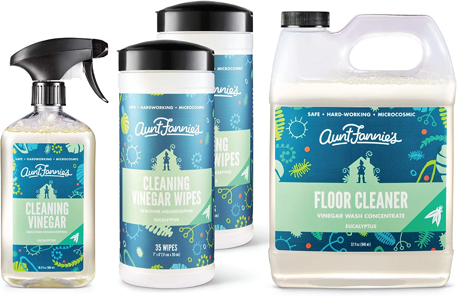 Aunt Fannie's Multi-Surface Vinegar Cleaning Special Campaign All Bundle: National products Purpose