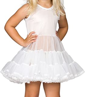 I.C. Collections Little Girls White Bouffant Slip Petticoat, 2T - 4T