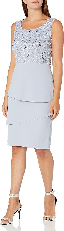 2021 Alex Evenings Women's Asymmetric Tiered Jacket Skirt and supreme Regula