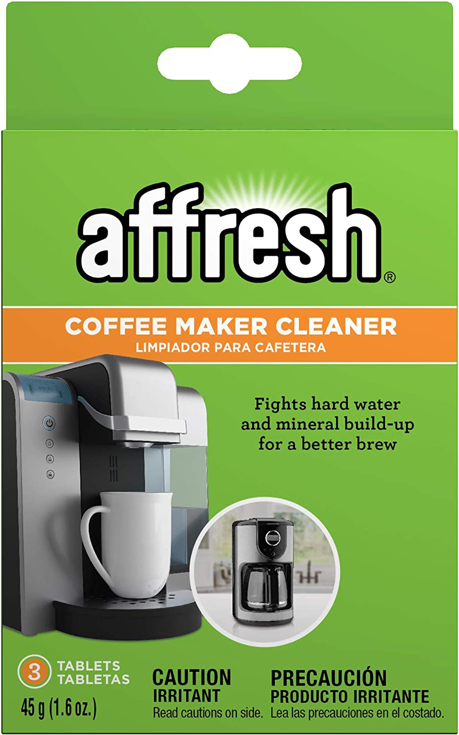 Affresh W10355052 San Antonio Mall Coffee Maker Cleaner Compatible Max 72% OFF Tablets 3 w