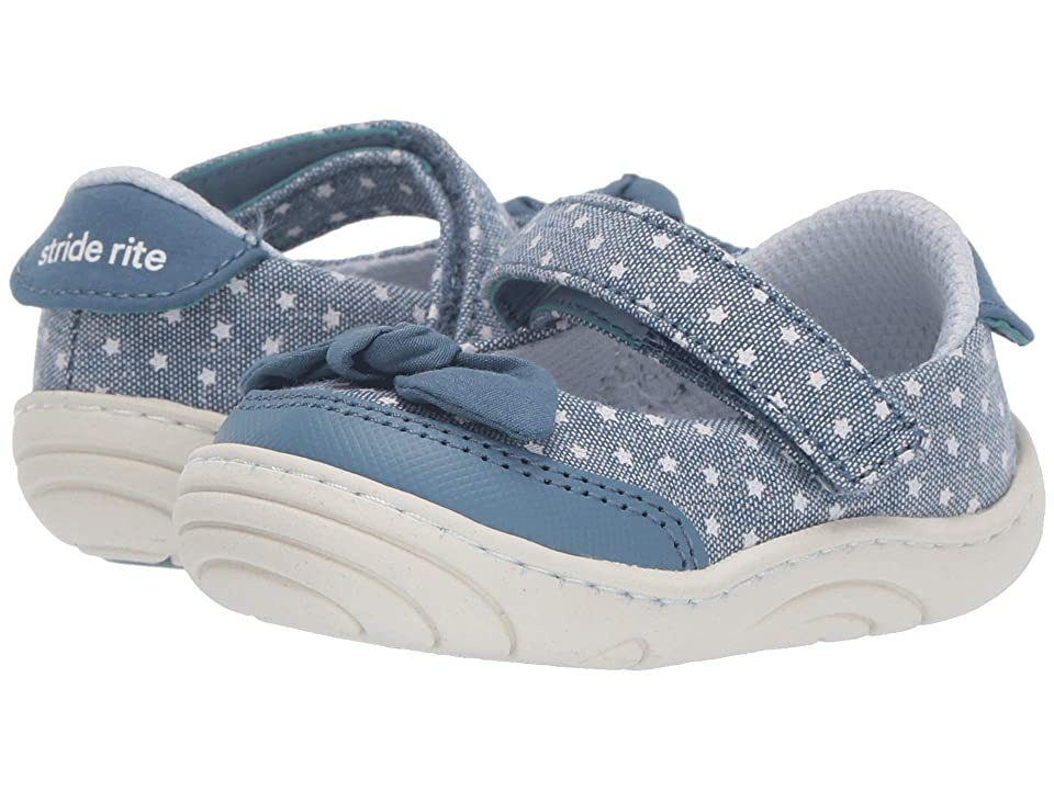 Stride Rite Lily (Infant/Toddler) (Navy 1) Girl