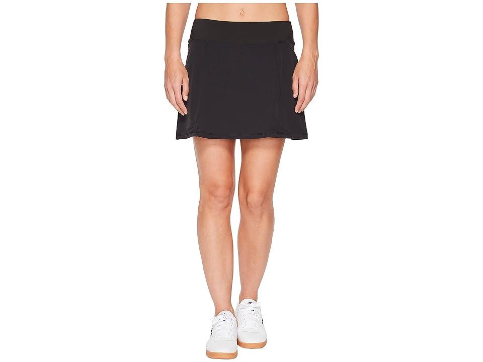 Fila Heritage Tennis Pleated Skort (Black) Women