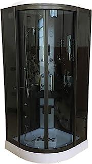 DUCHA CABINA DE HIDROMASAJE Modelo Vancouver 100 x 100 cm
