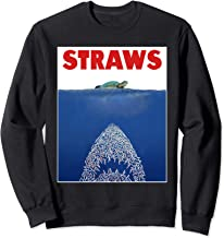 Save The Sea Turtles Conservation Gift Shirt Anti Straws  Sweatshirt
