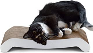 PetFusion Cat Scratching FLIP PAD - 2 Designs in one. [Superior Cardboard & Construction, Significantly outlasts Cheaper a...