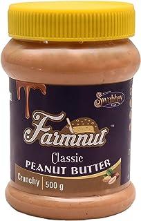 JOEN DIVERSE Farmnut Classic Peanut Butter (Crunchy)-500 Gm, Made with Roasted Peanuts, Zero Cholesterol & Transfat, High ...