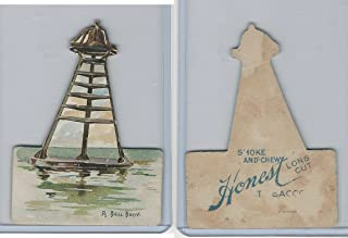 N119 Duke Honest Long Cut Tobacco, Lighthouses, 1890, A Bell Buoy