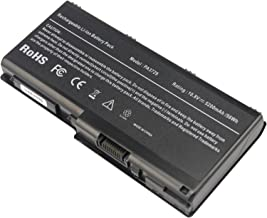 Laptop Battery fit Toshiba Qosmio X500 X505 Satellite P500 P505 Series PN: PA3729U-1BAS PA3729U-1BRS PA3730U-1BRS PA3730U-1BAS PABAS207, 5200mAh/10.8V/6-Cells -Futurebatt