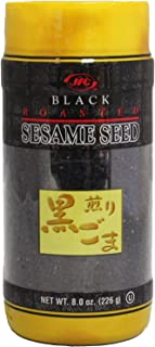 JFC Roasted Black Sesame Seeds Iri Goma, 8 oz