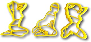 Club Dancers Cookie Cutters (Set of 3)