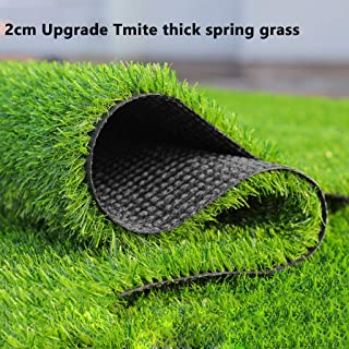 rentable et haute densit/é 2m x 1m // 6ft6 x 3ft3 vert arm/ée Gazon artificiel de 15 mm de hauteur