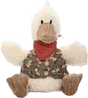 Beppe - Pato de Peluche Grande XXL Ideal para Regalar, Pato de la Suerte en Gris y Blanco, Bonito Peluche para niños y bebés