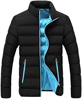 Janly Clearance Sale Man's Coat Jacket Set, Men Winter Warm Slim Fit Thick Bubble Coat Casual Jacket Outerwear, for Christmas