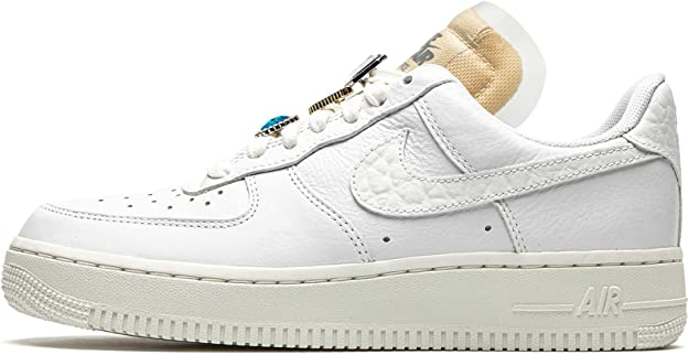 Amazon.com | Nike Air Force 1 Low Lx WMNS Bling Womens Cz8101 100 ...