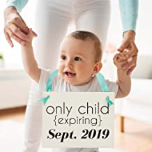 Only Child Expiring Sign Pregnancy Announcement for Big Brother or Sister   New Baby Announcement for Toddler or Child   Personalized with Due Date