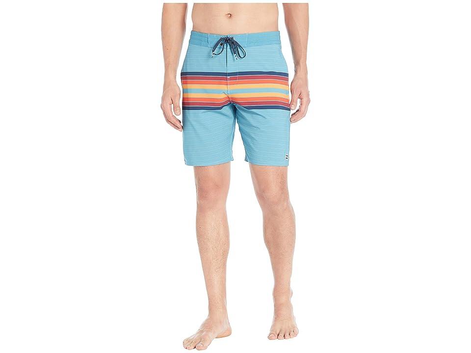 Billabong Spinner LT 19 Boardshorts (Blue Multi) Men