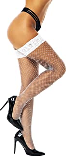 Fishnets Thigh High stockings Silicone Lace Top Stay Up Sheer Nylon Hosiery