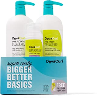 DevaCurl Bigger Better Basics - Super Curly Care Kit