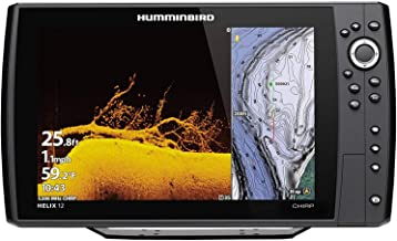Humminbird Helix 12 G3N CHO Fish Finder with Chirp, MEGA DI+, GPS, and 12.1-Inch-Display