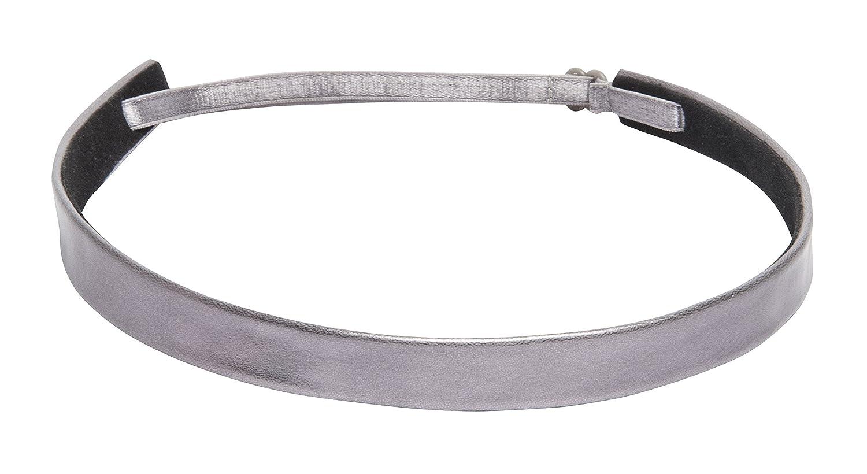 1907 Smooth Leather Skinny Headband, NHH036