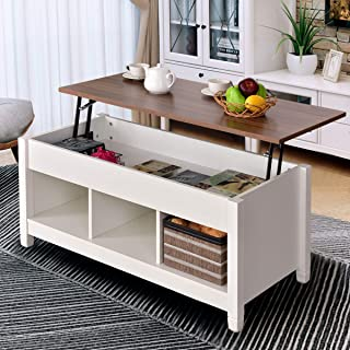 Amazon.com: White - Tables / Living Room Furniture: Home & Kitchen