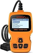 Car Code Reader AUTOPHIX OM123 OBD2 Scanner Auto OBDII Scan tool for Vehicle Checking Engine Light Car Diagnostic Scan Tool- Orange