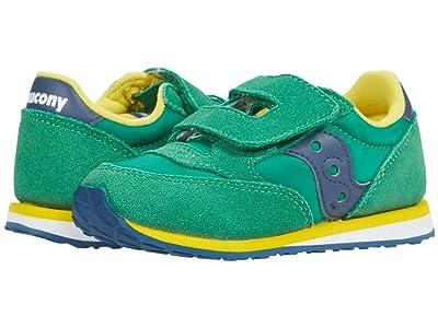 Saucony Kids Originals Baby Jazz HL (Toddler/Little Kid) (Green/Yellow/Blue) Boy