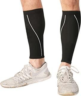 Bitly Graduated Calf Compression Socks – Improved Leg Circulation & Pain Relief for Runners, Athletes & More