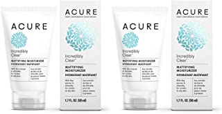 Acure Oil Control Facial Moisturizer with Lilac Stem Cells, 1.75 fl. oz. (Pack of 2)
