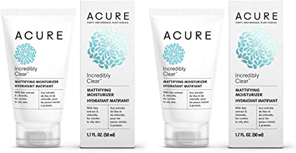 product image for Acure Incredibly Clear Mattifying Moisturizer with Lilac Extract and Chlorella, 1.75 fl. oz. (Pack of 2)