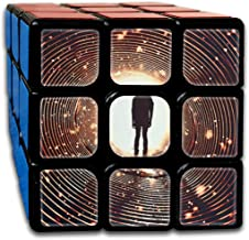 BSOTFY 3x3 Rubik Cube Lights Tunnel Spiral Smooth Magic Cube Sequential Puzzle