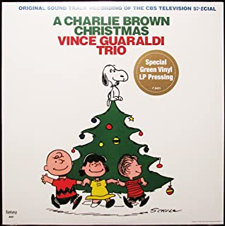 charlie brown christmas picture disc