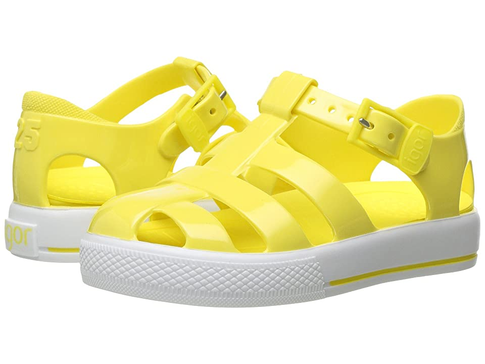 Igor Tenis Solid (Toddler/Little Kid) (Yellow) Girl