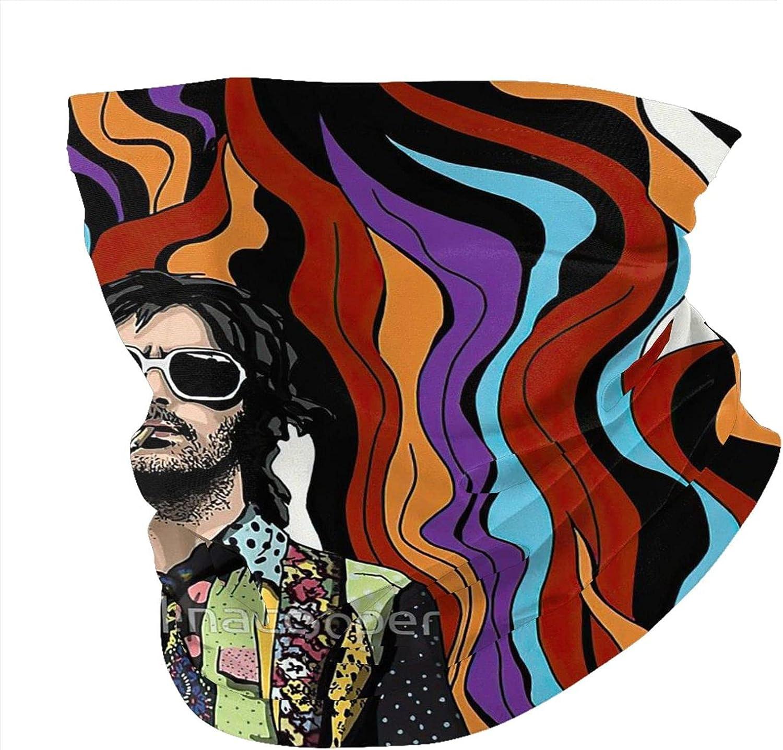 Eric Clapton Man'S Women'S Multipurpose Face Mask Bandanas Dust Travel Neck Gaiter Fashion Balaclava Face Scarf Outdoor Neck Gaiter Headwear Face Cover
