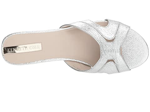 Outlet Websites 2018 Kenneth Cole New York Viveca Solid Silver Metallic Leather 100% Original Cheapest Price Buy Cheap New q2KRvuXK